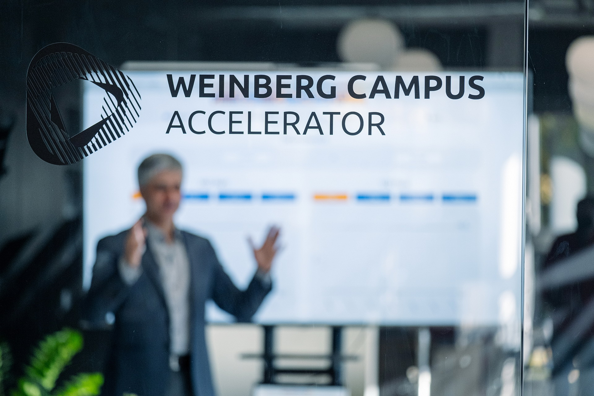 8 weeks after the start of the Weinberg Campus Accelerator