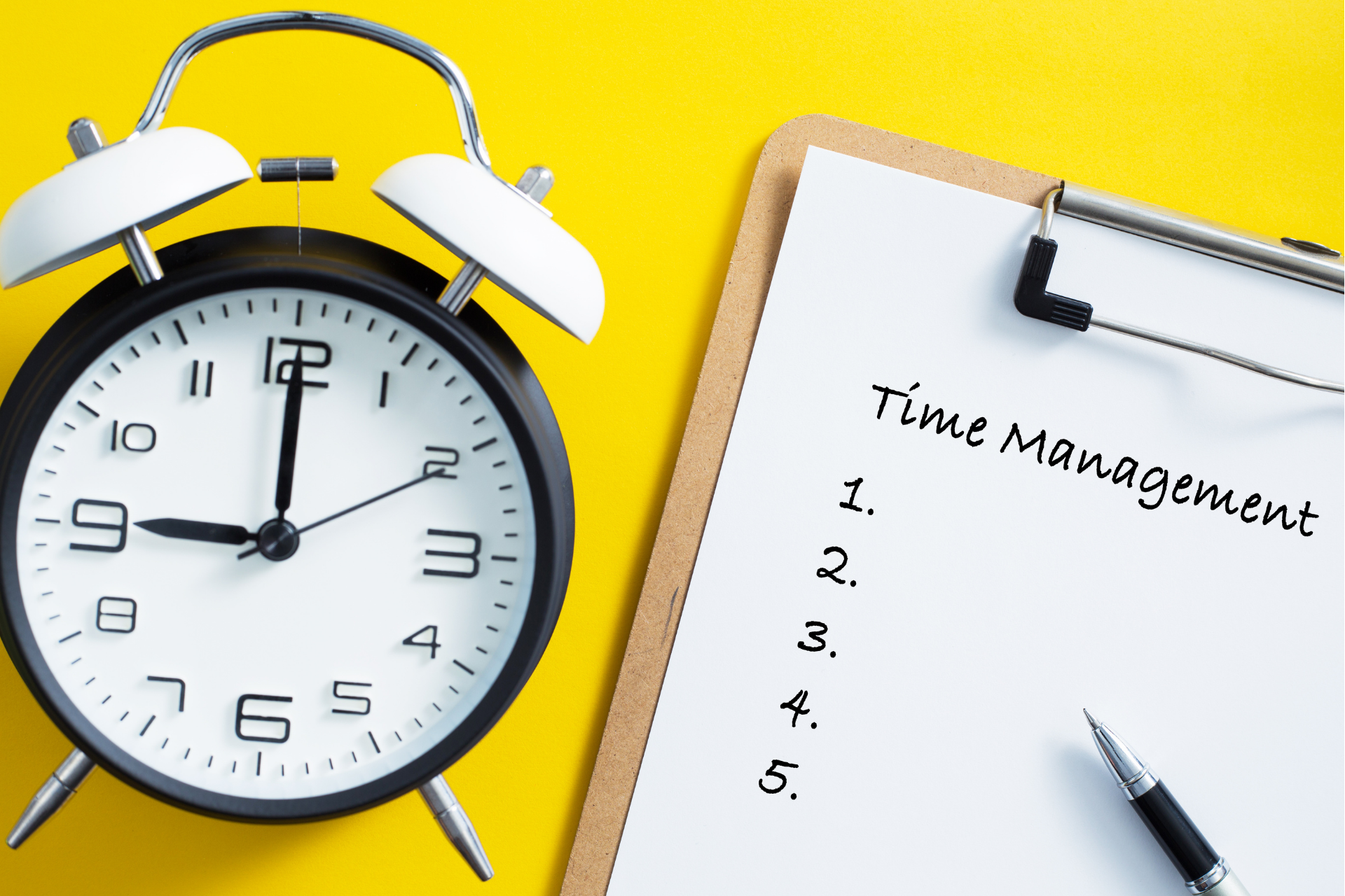 5 Tips for a better Time and Project Management