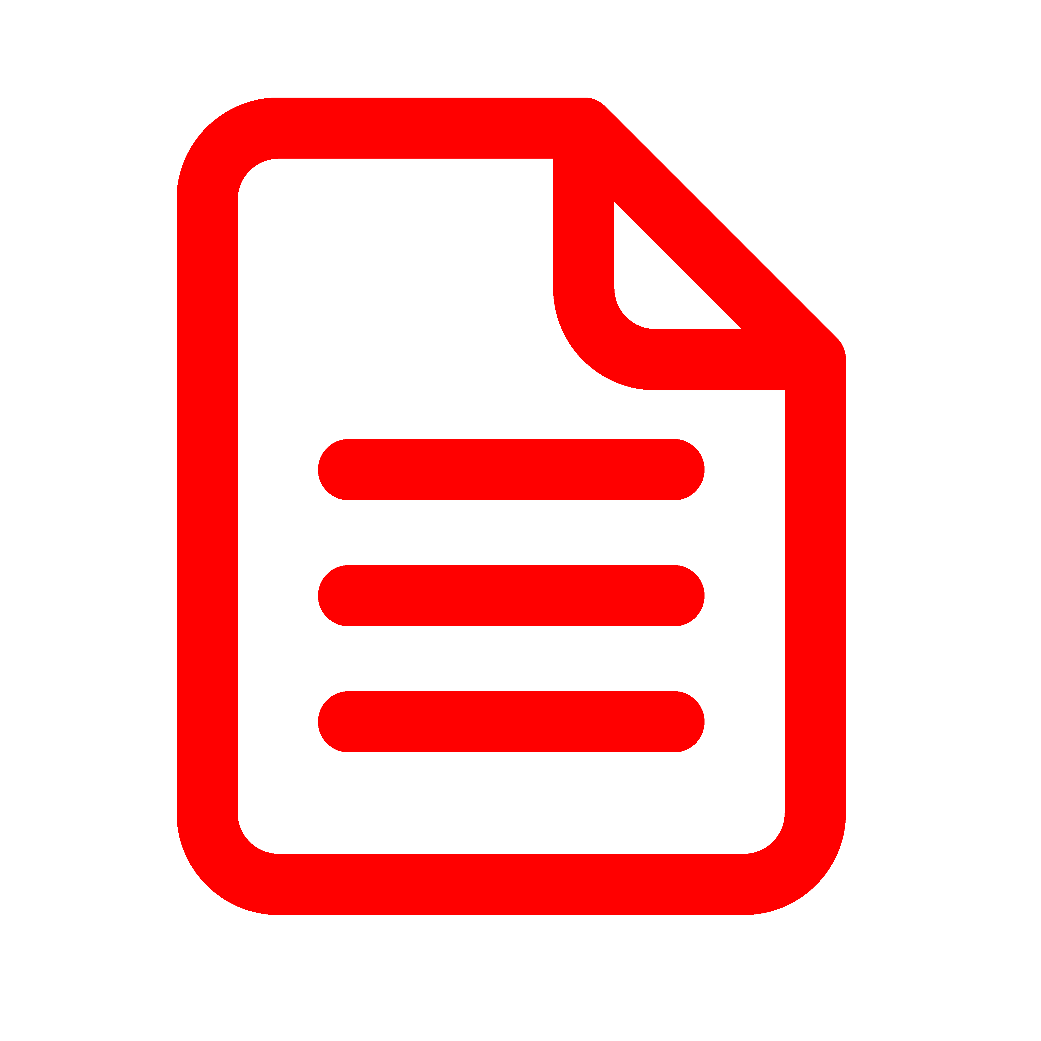 Application document as an icon