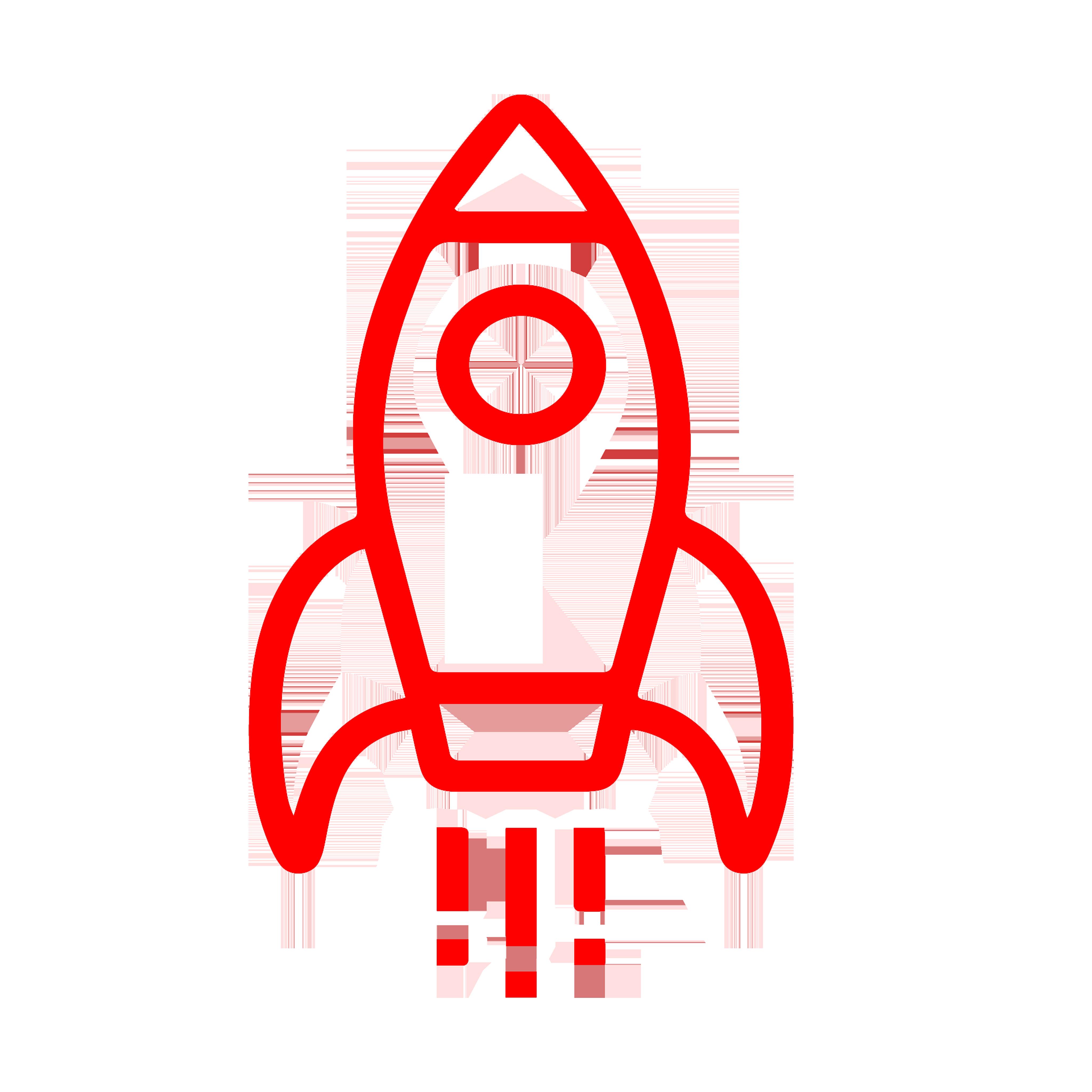 Rocket as ab icon